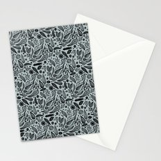 Dark Leaves Stationery Cards