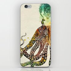 Octopus iPhone & iPod Skin
