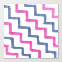 Missoni Stairs Canvas Print