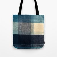 Abstract Flannel Tote Bag