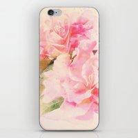 Douces Fleurs Roses iPhone & iPod Skin