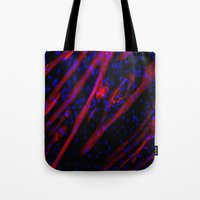 Microscopic Muscle Cells Tote Bag