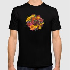 Flowers For Lola Mens Fitted Tee SMALL Black