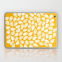 Yellow Leaf Laptop & iPad Skin