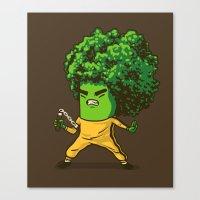 Brocco Lee Canvas Print
