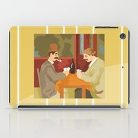 Card players by Cezanne iPad Case