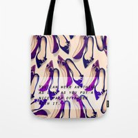A nice pair of shoes Tote Bag