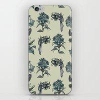 Botanical Florals   Vint… iPhone & iPod Skin