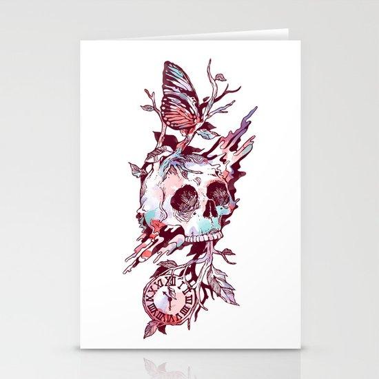 Mors et Natura 2.0 Stationery Card