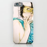 iPhone & iPod Case featuring Smoking bunny by Tiffany Willis
