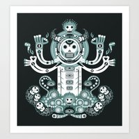 Manitou tatoo Art Print