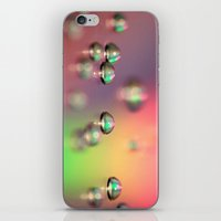 water drops iPhone & iPod Skin