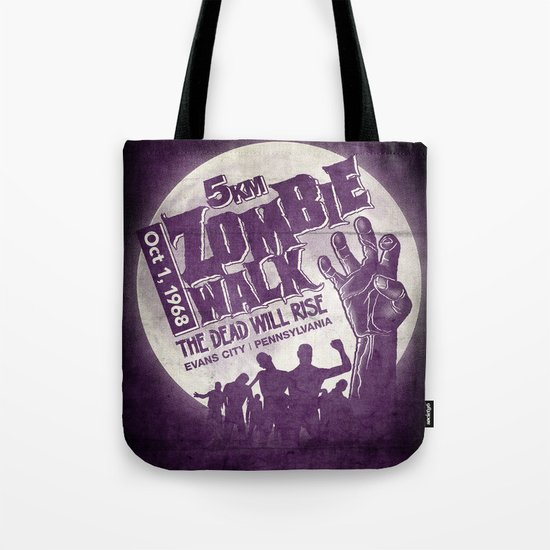 Zombie Walk Tote Bag