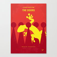No573 My Doors minimal movie poster Canvas Print