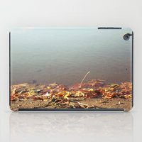 Autumn by the water iPad Case