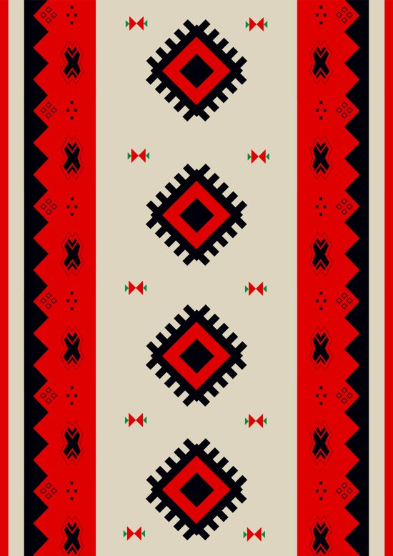 Romanian Pattern Art Print