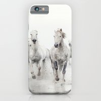 Ghost Riders - Horse Art iPhone 6 Slim Case