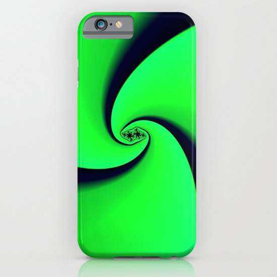 Black and Green  iPhone & iPod Case