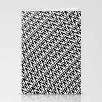 Black And White 3 Stationery Cards