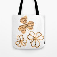 PAPERCUT FLOWER 4 Tote Bag