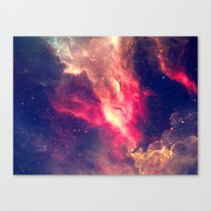 The Sky Is On Fire Canvas Print