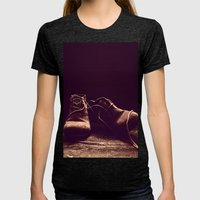 Boots I Womens Fitted Tee Tri-Black SMALL