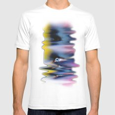 EYE AM Icecream Mens Fitted Tee White SMALL