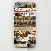 iPhone & iPod Case featuring Brown Intersections by Tosha Lobsinger is my Photographer