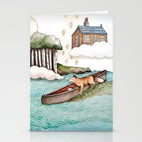The Day We Saw The Sun C… Stationery Cards