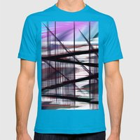Way Out Mens Fitted Tee Teal SMALL