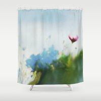 Sunny Sonja Shower Curtain