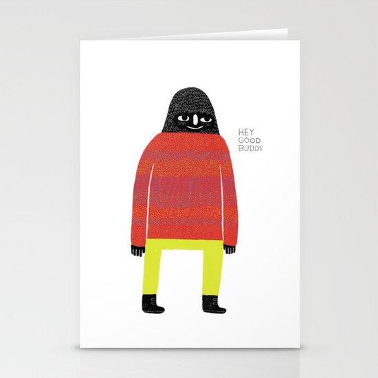 Good Buddy Stationery Card