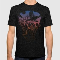 Joshua Tree Mens Fitted Tee Tri-Black SMALL
