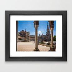 Sevilla Framed Art Print