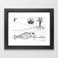 Specimen A Framed Art Print