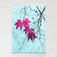 Maple Tree Stars Stationery Cards