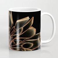 Book Flower Mug