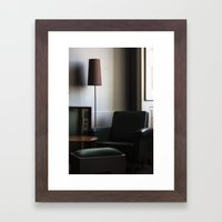 mercado negro Framed Art Print