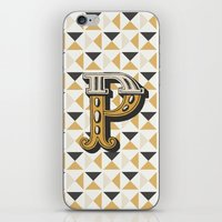 Letter P iPhone & iPod Skin