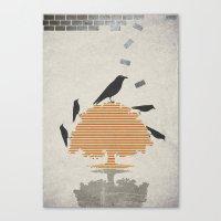 The Carrion Crow 1 Canvas Print