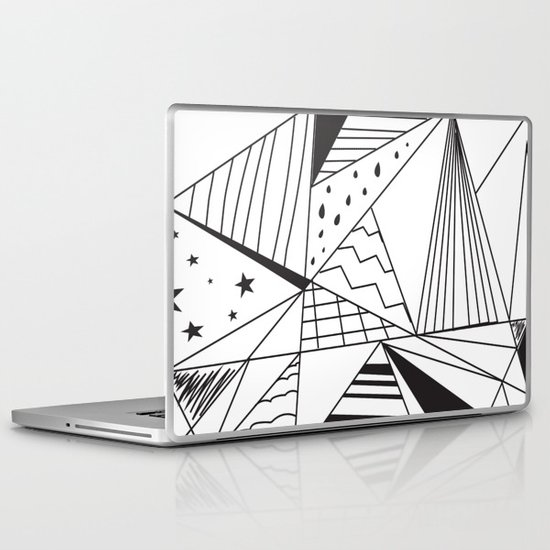 Triangle Dream Laptop & iPad Skin