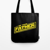 I Am Your Father (yellow… Tote Bag