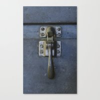 Latch Canvas Print