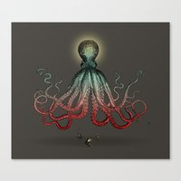 Octoverlord Canvas Print