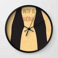 WTF is MDNA Wall Clock