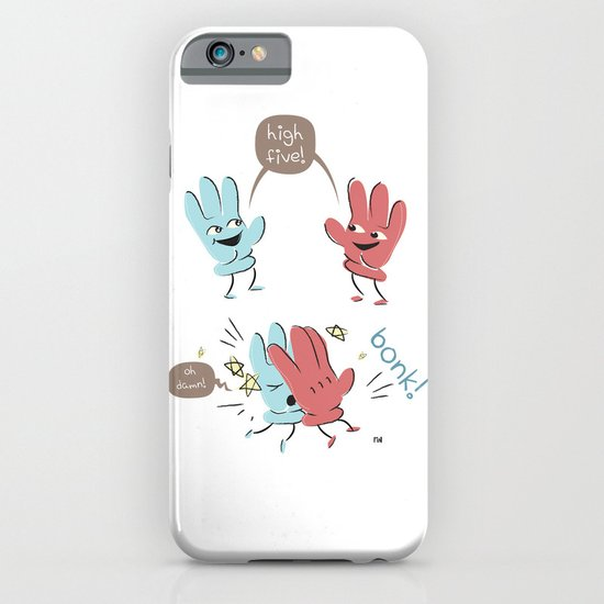 High Five (gloves version) iPhone & iPod Case