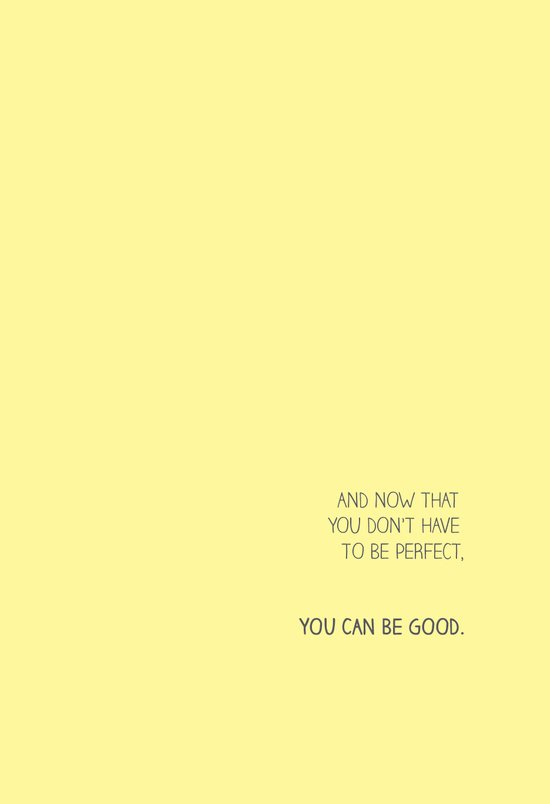 YOU CAN BE GOOD Art Print
