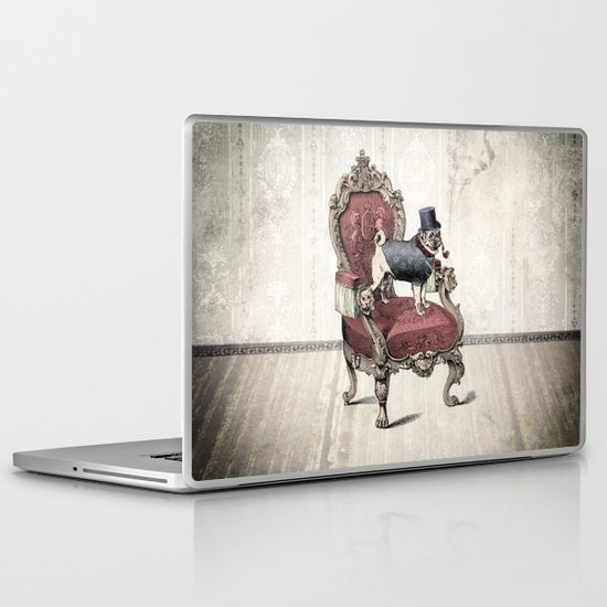 The Imperial Pug Laptop & iPad Skin