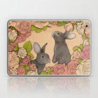 Rosie Rabbits Laptop & iPad Skin