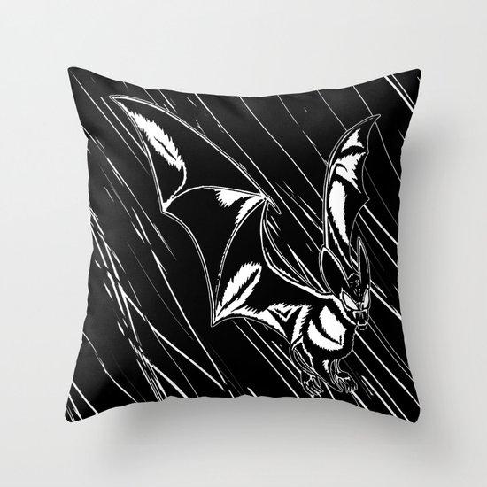 Bat Attack! Throw Pillow